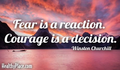 courage is a decision