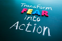fear into action